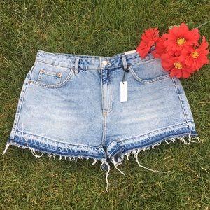 Cutoff Mom Shorts
